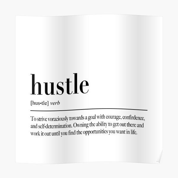 What is your Hustle?